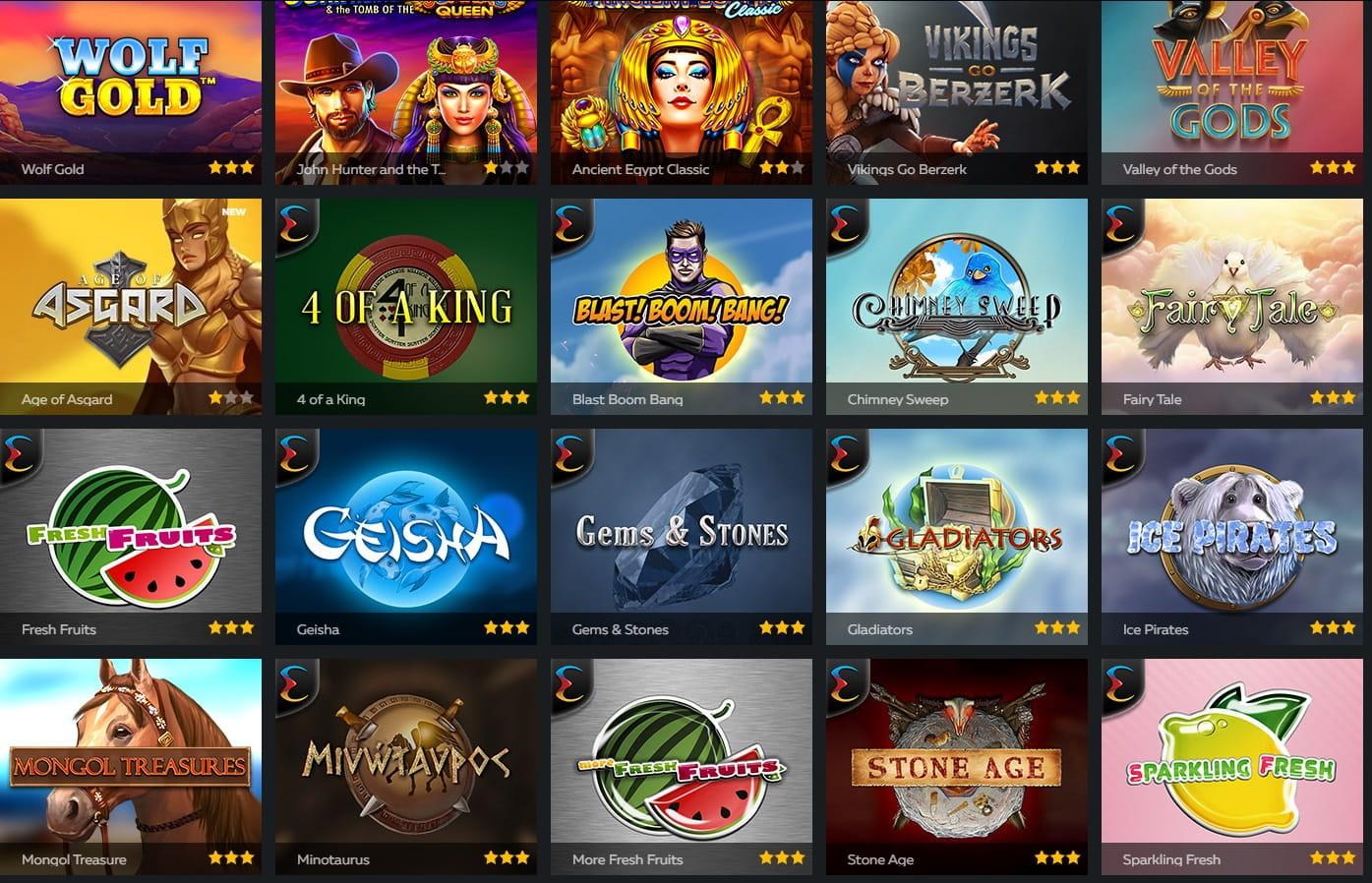 Online casinos that accept prepaid mastercard